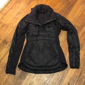 Lululemon Down For A Run Jacket  Goose Down Size 2